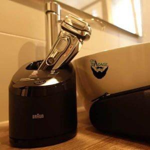 Braun - Series 9 en el baño