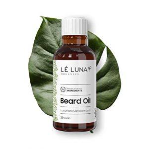 envase de aceite para la barba