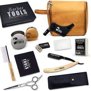 kit para el cuidado del bigote con estuche