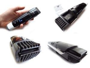 varias máquinas de afeitar con aspiración de pelos