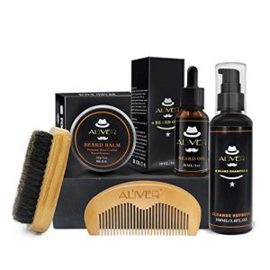 kit de limpieza para barba para regalar