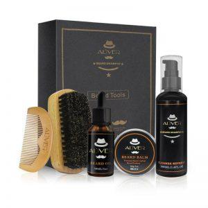 kit de limpieza para barba básico