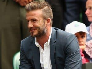 Beckham con barba