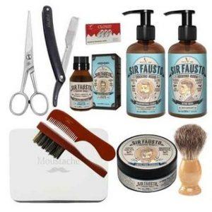 lote de limpieza para barba