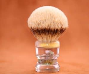 brocha de afeitar pequeña