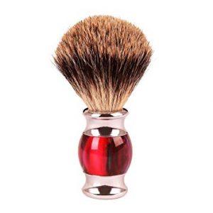 brocha de afeitar moderna