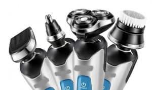 varios tipos de máquina de afeitar eléctrica