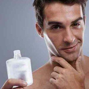 hombre afeitado