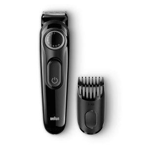recortadora de barba braun y cabezal