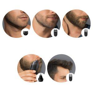 usos de una cortapelos Braun