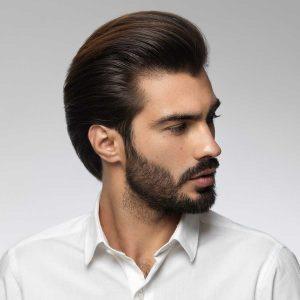 hombre con el pelo cuidado