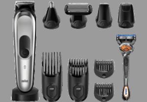 cortapelos braun y sus accesorios