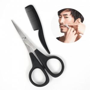 tijeras para barba y peine