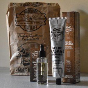 varios productos para la barba