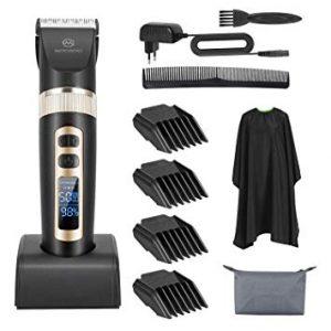 barbero con accesorios