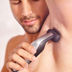 depilación corporal masculina axila