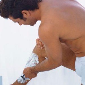 depilación corporal masculina piernas
