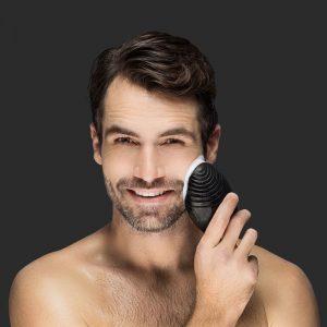 cepillo limpiador facial para hombre