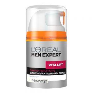 crema facial antiarrugas para hombre